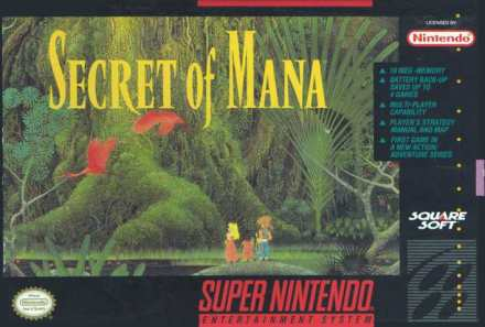 Secret of Mana iphone/ipad review
