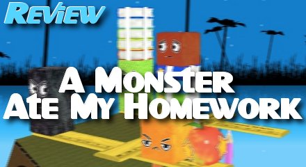 A Monster Ate My Homework Review