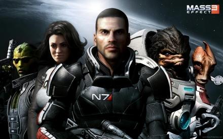 Shepherd, Wrex, Miranda - Mass Effect 3 demo