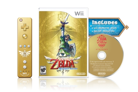 Image of The Legend of Zelda: Skyward Sword Box Art